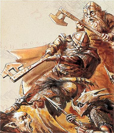 Batalha anoes x orcs