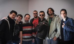 Nimbus, Gonça, Freakzoide, Jairo, Du, Jão e Chico