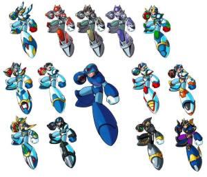 Megaman-X-All-armors-megaman-9029157-1024-878