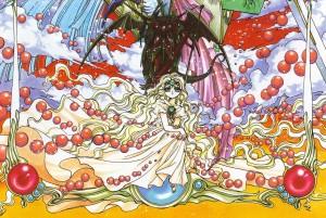 Princesa Esmeralda, de Rayearth: o poder (e a responsabilidade) de governar a realidade por sua vontade.