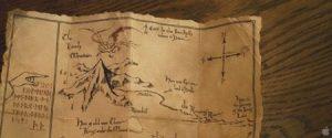 Mapa Erebor