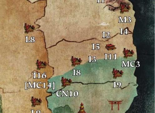 Rokugan Mapa Campanha 4